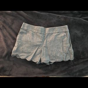 Loft Scalloped shorts